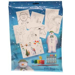 The Snowman Creative Fun Bag Pack
