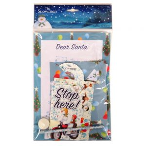 The Snowman Letter to Santa Pack Front
