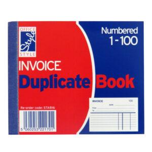 Office Style Mini Invoice Duplicate Book