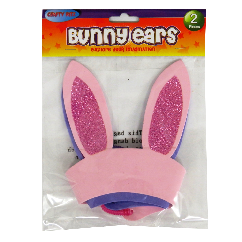 Easter Bunny Ears - Pack of 2