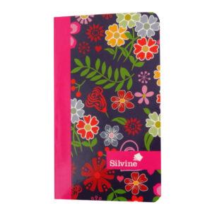 Marlene West Slim Writing Notebook Floral Pink