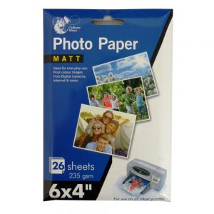 Chiltern Wove Photo Paper - 6 x 4 Matt