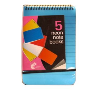 Neon Notebooks - Pack of 5