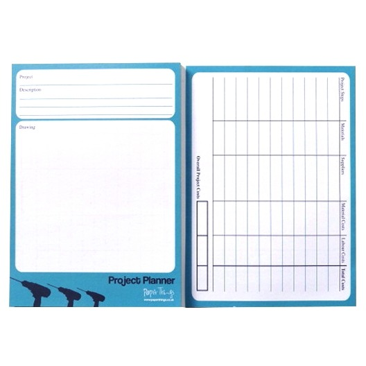 A5 Home Project / Decoration / Gardening Planner