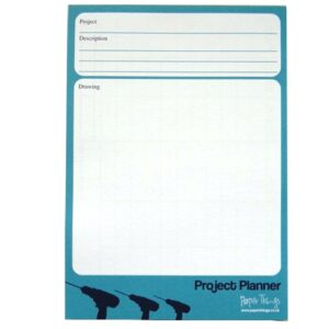 A5 Project Planner Notepad