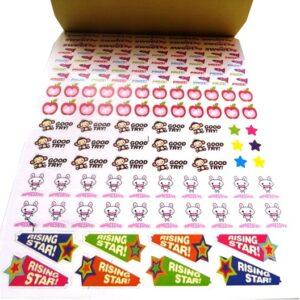 Children's Reward Sticker Book Open 3