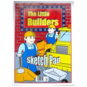 Little Builders Large Drawing and Sketching Pad