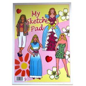 Girls Large Drawing and Sketching Pad