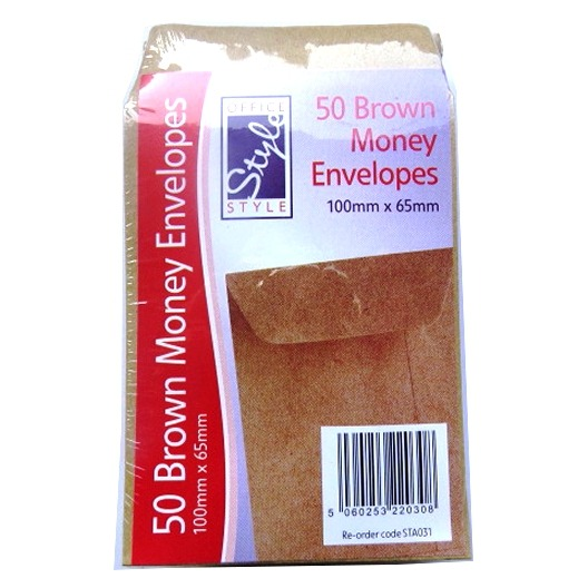 Dinner Money / Seed Envelopes - Pack of 50
