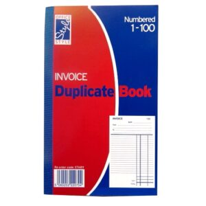 Invoice Duplicate Book - Office Style