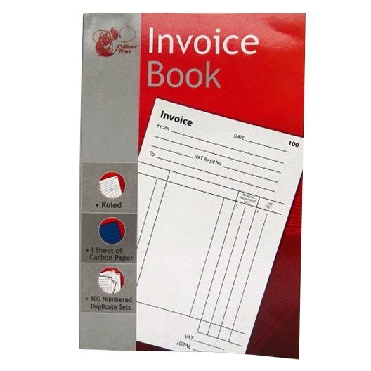 Invoice Duplicate Book - Chiltern