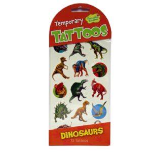 Temporary Tattoos Dinosaurs