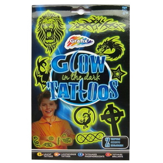 Boys Glow Tattoos