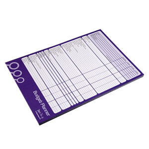 A4 Budget Planner Front 2