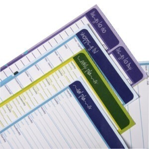 A4 Multi Planner Notepad Paper Things Angle