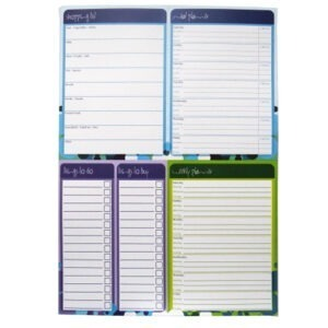 A4 Multi Planner Notepad Paper Things Front