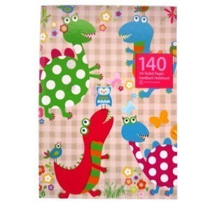 A4 Hardcover Notebook – Lady Dinosaurs