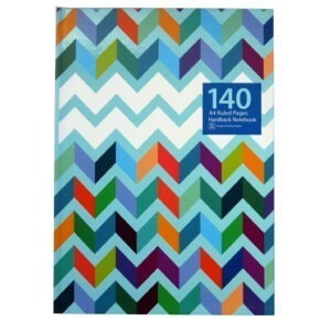 A4 Hardcover Notebook – Waves
