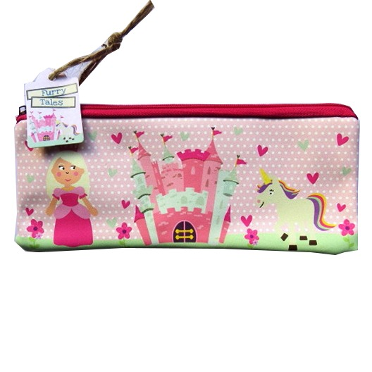 Pencil Case Padded Princess Design