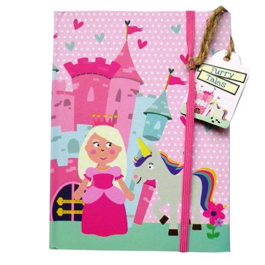 A6+ Hardcover Notebook - Princess Design