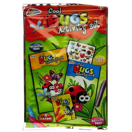 Childrens Cool Bugs Activity Set