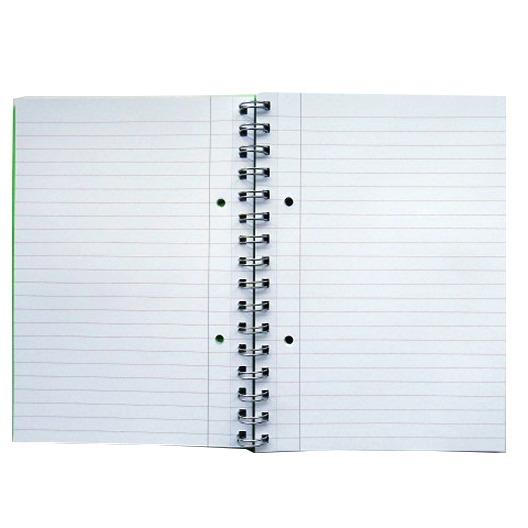 A5 Premium Wirebound Notebook - Blue