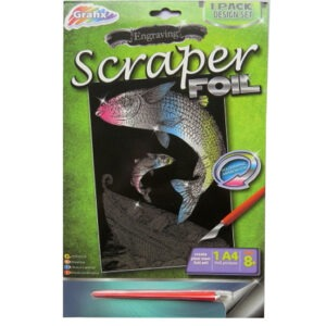 Engraving Scraper Foil Pack – Shipwreck, Rainbow Foil
