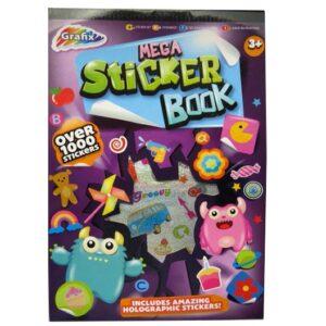Grafix Mega Sticker Book