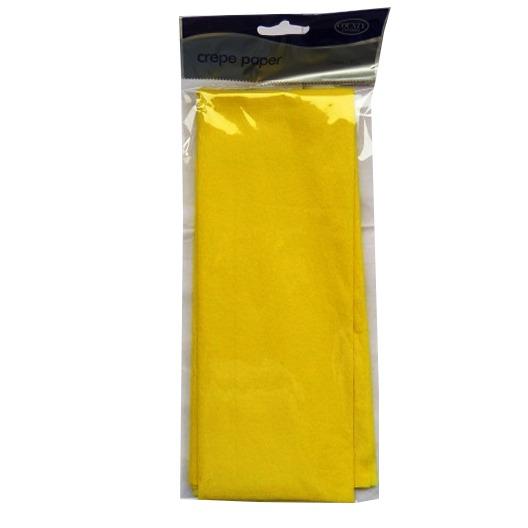 Crepe Paper - Yellow - 1.5M x 50cm