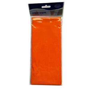 Crepe Paper - Orange - 1.5M x 50cm