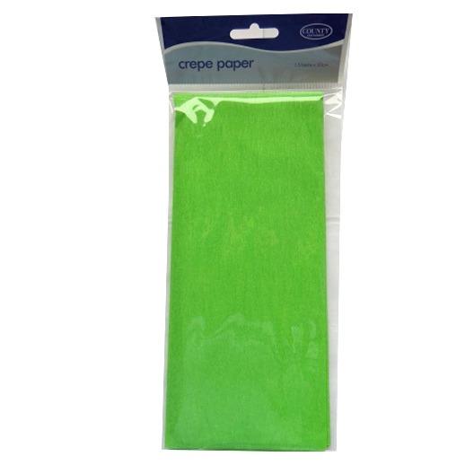 Crepe Paper - Light Green