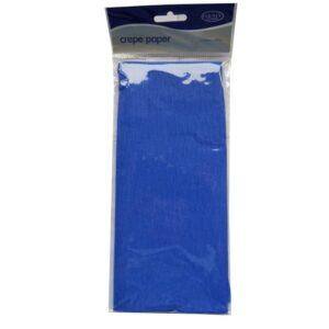 Crepe Paper - Blue - 1.5M x 50cm