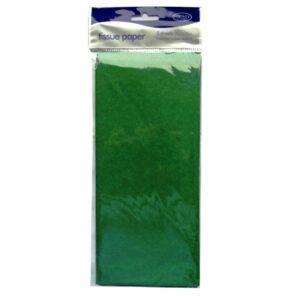 Tissue Paper - Green, 50cm x 75cm, 5 Sheets