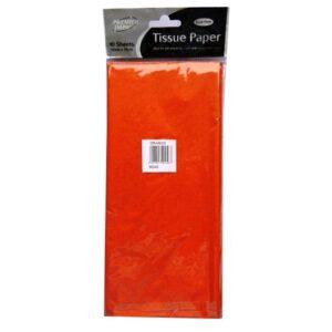 Tissue Paper - Orange, 50cm x 75cm, Premier Impact