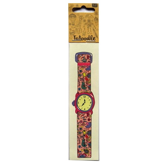 Tatoodle - Temporary Illustrated Artistic Tattoos - Girls Wrist Watch
