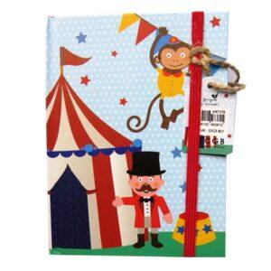 A6+ Hardcover Casebound Notebook - Circus