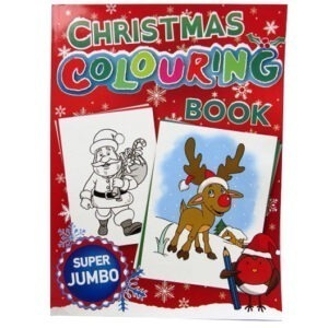 The Big A4 Christmas Colouring Book