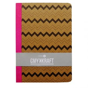 A6 Casebound Notebook - Waves