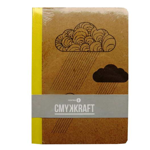 A6 Casebound Notebook - Clouds