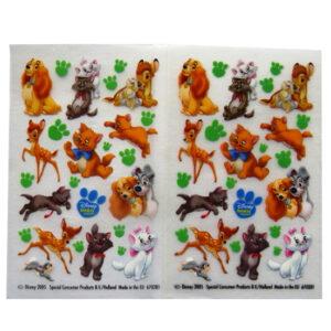 Disney Animal Friends - Creative Rub on Transfer Stickers