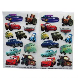 Cars - Creative Rub on Transfer Stickers