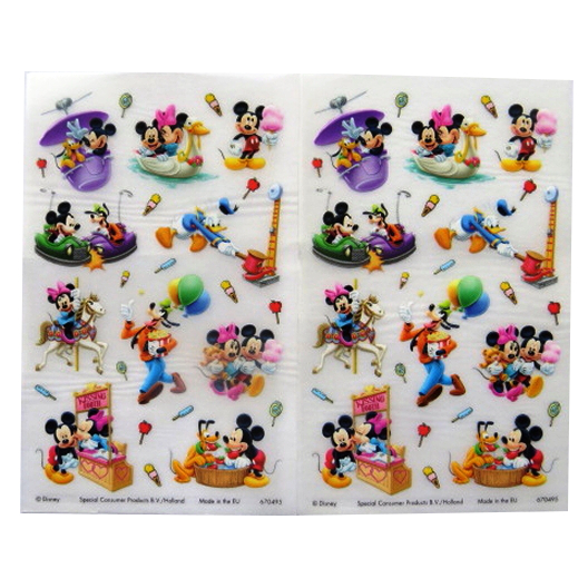 Mickey and Friends - Creative Rub on Transfer Stickers