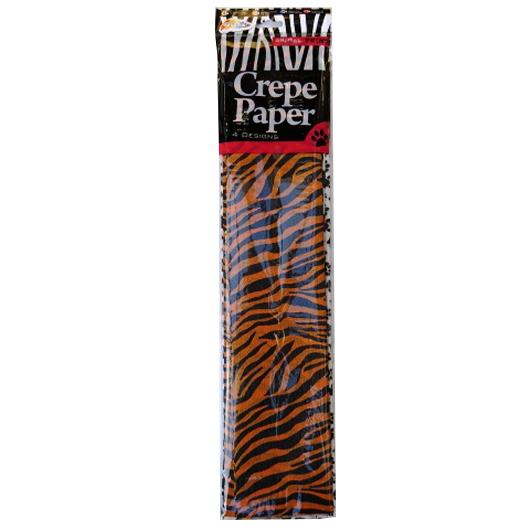 Crepe Paper Animal Print