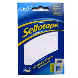 Sellotape Sticky Fixers Foam Pads