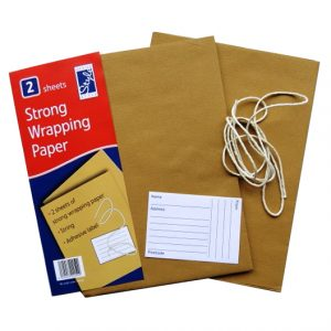 Strong Brown Wrapping Paper
