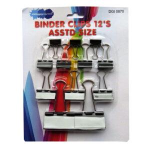 Metal Fold Back Binder Clips