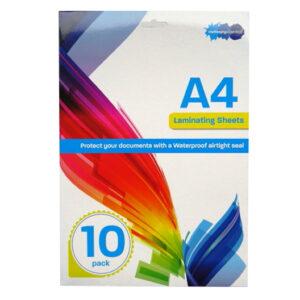 A4 Laminating Sheets - Pack of 10