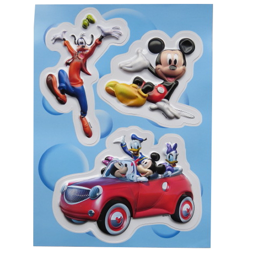 Disney Colourful 3D Decoration Stickers