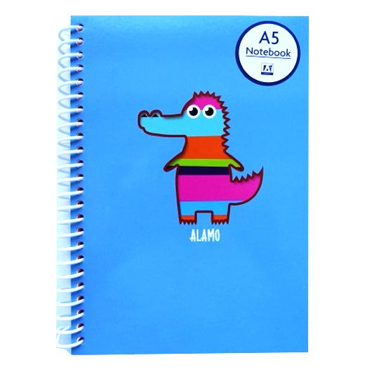 A5 Rascals Notebook Alamo Croc Front