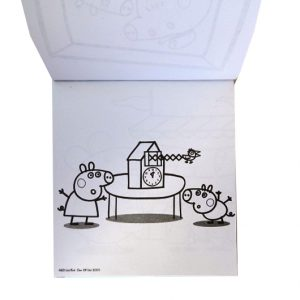 Children's Creative Carry Colouring Set - Peppa Pig